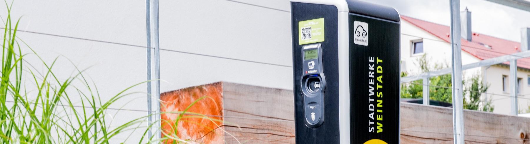 Ladesäule E-Tankstelle Weinstadt
