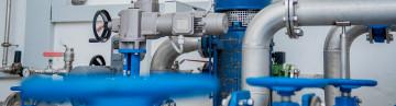 Wasserrohre für die Trinkwasserversorgung